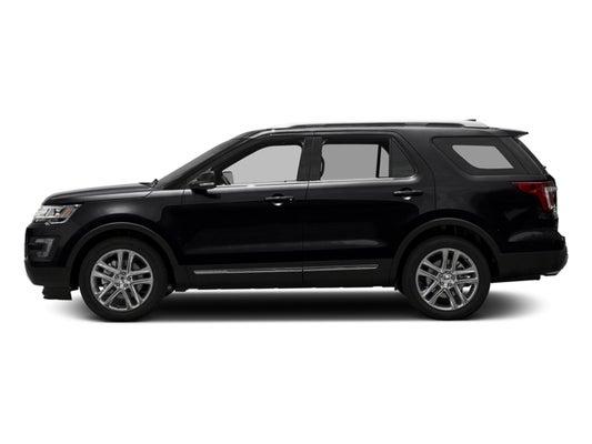 Black Ford Explorer >> 2017 Ford Explorer Xlt